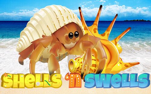 Enjoy Summer With Shells n' Swells Video Slot